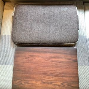 """17"""" padded laptop carrier / case"""